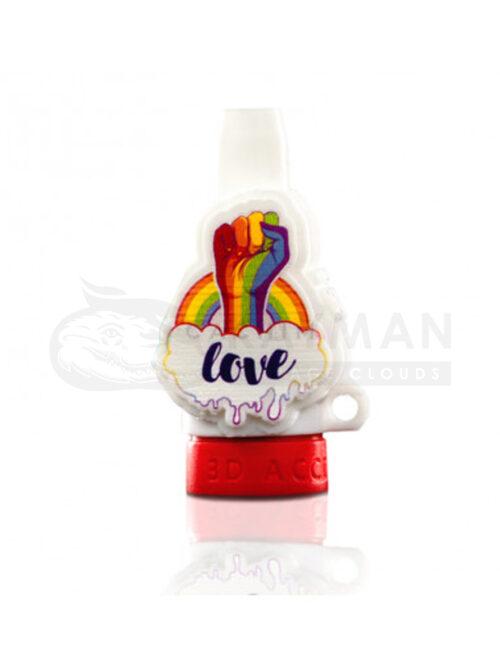 Boquilla 3D Love Orgullo