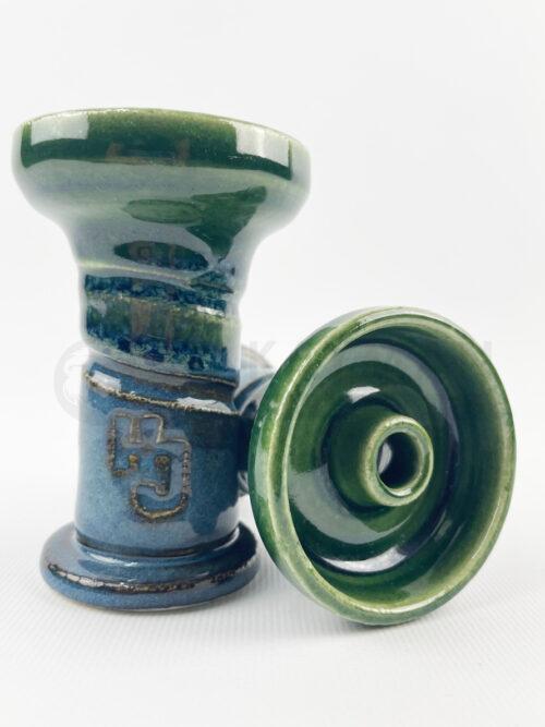 Cazoleta Hookah John 80 Feet España - Green-Blue